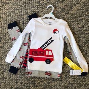 Carter's snug fit pajama set